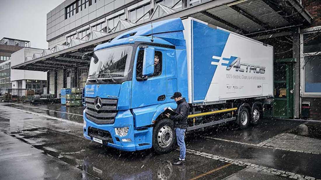 Camión híbrido