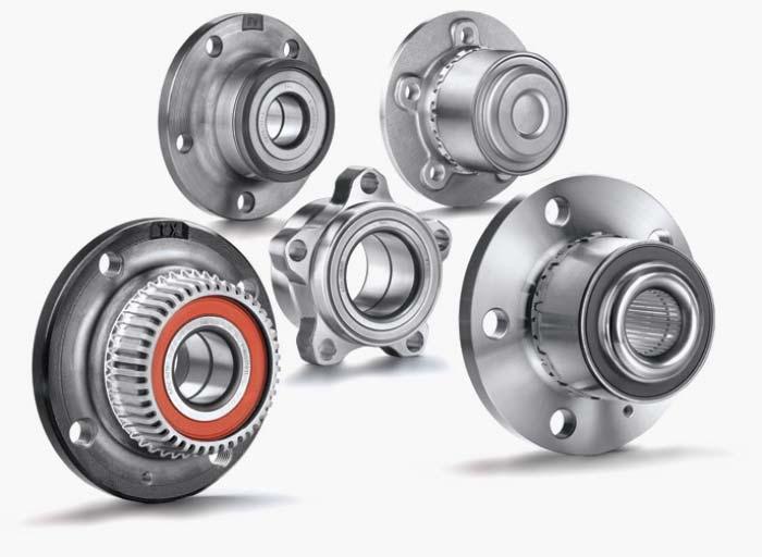 Tipos de rodamientos de rueda