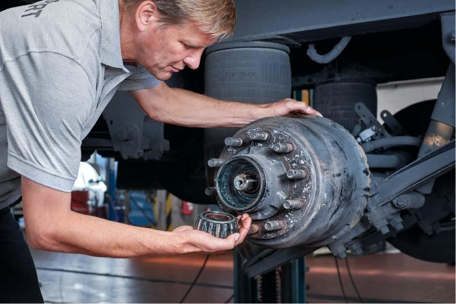Diagnosis rodamientos camión